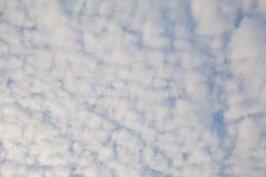 Sky with clouds. Blue sky background with clouds Royalty Free Stock Images