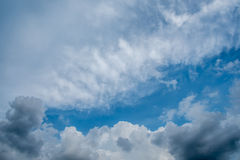 Sky and clouds. Sky clouds blue background beautiful Royalty Free Stock Images