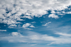 Sky and clouds. Sky clouds blue background beautiful Stock Images