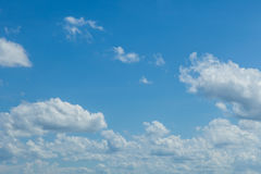 Sky clouds Royalty Free Stock Image