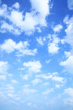 Sky and clouds Royalty Free Stock Photo
