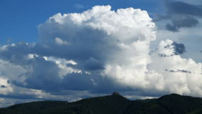 Sky With Clouds. stock footage