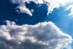 Sky with clouds. Stock Image