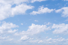 Sky and clouds. Blue sky clouds and skies daytime Royalty Free Stock Photos