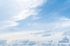 Sky and clouds. Blue sky clouds and skies daytime Royalty Free Stock Images