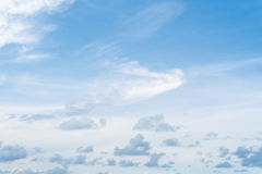 Sky and clouds. Blue sky clouds and skies daytime Stock Photos