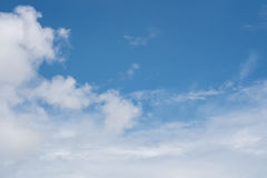 Sky and clouds. Blue sky clouds and skies daytime Stock Photo