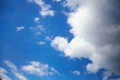 Sky with clouds Royalty Free Stock Photography