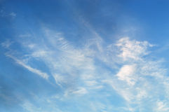 The sky in the clouds. The bright sky in the clouds Stock Photography
