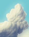 Sky / clouds. Cartoon sky / clouds / digital painting / illustration Stock Photo