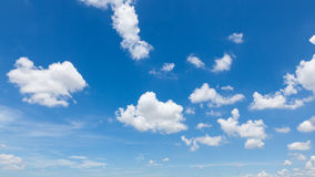 Sky clouds. And clear sky at Bangkok, Thailand Stock Image