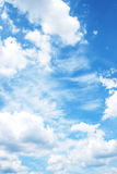Sky with clouds Stock Images