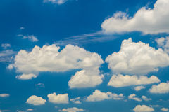 Sky and clouds. Sky and cloud daylight,Thailand Royalty Free Stock Image