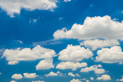 Sky and clouds. Sky and cloud daylight,Thailand Royalty Free Stock Photography