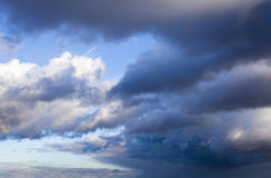 The sky with clouds Royalty Free Stock Photography