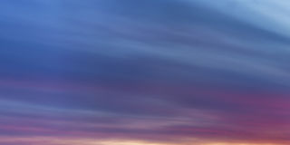 Sky with clouds at dawn. Dark sky with clouds at dawn, panorama Stock Photo