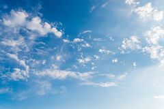 Sky with clouds. Stock Photos