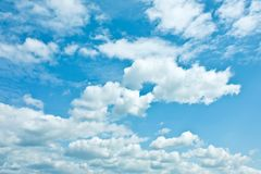 Sky and clouds - environment, nature background, weather and meteorology concept. Elegant visuals stock images