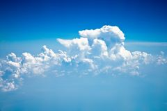 Sky and clouds - environment, nature background, weather and meteorology concept. Elegant visuals royalty free stock photography