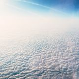 Sky and clouds - environment, nature background, weather and meteorology concept. Elegant visuals stock photos