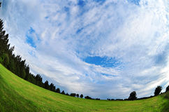 Sky clouds environment Royalty Free Stock Images