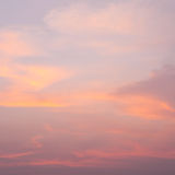 Sky and clouds in the evening Royalty Free Stock Photography