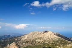 Sky, clouds and mountain. S near Antalya (Turkey Royalty Free Stock Image