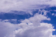 Sky with clouds nature background Royalty Free Stock Image