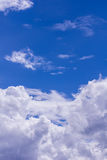Sky with clouds nature background Royalty Free Stock Photo