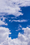 Sky with clouds nature background Stock Images