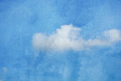 Free Sky Clouds On Wall Texture Background Royalty Free Stock Photography - 50559947