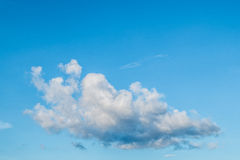Sky and clouds. Outdoor  cloudiness white cloud view day seasonal bright light summer season climate cloudy heavens high color blue weather beauty sky beautiful Royalty Free Stock Photography