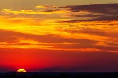 Sky clouds pastel tones, morning evening sunset sunrise Stock Image