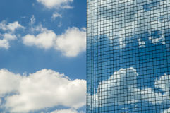 Sky and clouds reflection Stock Photography
