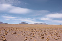 Sky and clouds in Silol Desert Royalty Free Stock Photos