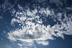 Sky with a clouds. Day time Stock Photo