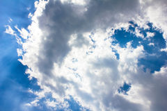Sky and Clouds Royalty Free Stock Image