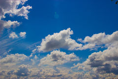 Sky with clouds Stock Image