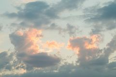 Sky and clouds. Stock Photo
