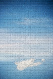 Sky with clouds and stripes Stock Photos
