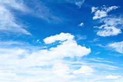 Sky and clouds Royalty Free Stock Photography