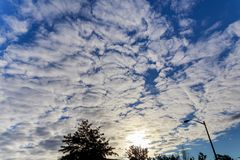 Sky clouds, with  and sun. Sky clouds,sky with clouds and sun sky clouds, blue, background, outdoor, sunlight, natural, white, spring, view, day, sunny, summer royalty free stock photography