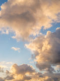 Sky with clouds during sunrise Royalty Free Stock Photography