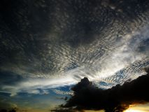 Sky and clouds at Thailand Stock Photography