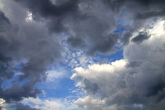 Sky, clouds, types Stock Images