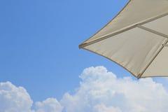 Sky. Clouds. Umbrella Stock Image