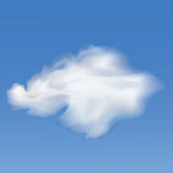 Sky And Clouds. Vector Royalty Free Stock Image