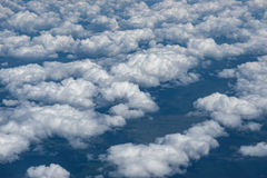 Sky with clouds. Royalty Free Stock Images