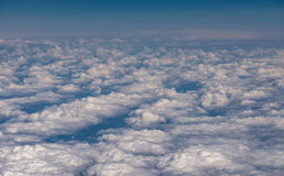 Sky with clouds. Royalty Free Stock Image