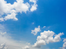Sky and clouds Stock Images